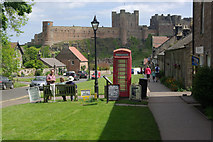 NU1834 : Front Street, Bamburgh by Stephen McKay