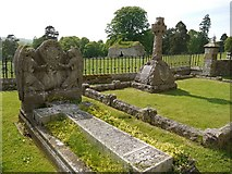 NT9437 : Graveyard, St Michael & All Angels Church, Ford by Andrew Curtis