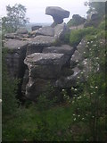SE2065 : Druid's Writing Desk - Brimham Rocks by Tom Howard