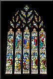 TL2702 : West Window, St. Thomas a Becket, Northaw by Martin Addison