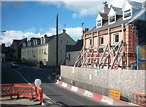 J0407 : House refurbishing in Bridge Street, Dundalk by Eric Jones