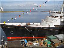 NT2677 : Berth for HMY Britannia by David Dixon