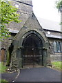SD9710 : The Parish Church of Christ Church, Denshaw, Porch by Alexander P Kapp