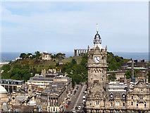 NT2674 : View towards Calton Hill by David Dixon