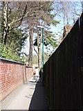 SP2871 : The Blundells footpath, Kenilworth by John Brightley