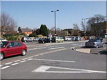 SP2871 : Abbey End car park, Kenilworth by John Brightley