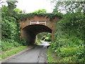 SO8677 : Railway Bridge over Deansford Lane, Worcestershire by Richard Rogerson