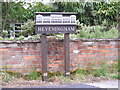 TM3372 : Heveningham Village Sign by Adrian Cable