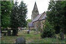 SK3030 : All Saints Church, Findern by Kate Jewell