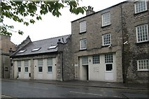 SD5192 : Kendal old fire station, Aynam Road by Kevin Hale