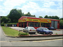 TQ7369 : National Tyres and Autocare, Station Road, Strood by Stacey Harris