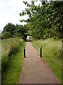 SK5536 : Cyclepath from Thane Road to Beeston Canal by Andrew Abbott