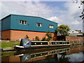 SK5537 : Narrowboat on the Beeston Canal by Andrew Abbott