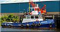 C8432 : Harbour tug, Coleraine by Albert Bridge