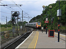 NT9953 : Supervoyager at Berwick-on-Tweed by Stephen Craven