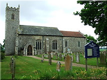 TG3609 : St Peter Lingwood by Keith Evans