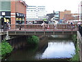 SO8376 : Bridge over the Stour, Kidderminster by Malc McDonald