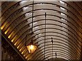 TQ3381 : London: Leadenhall Market roof by Chris Downer