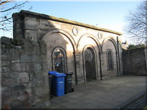 NT9953 : Remains of the Temperance Hall by Jonathan Thacker
