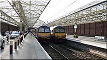 NS2982 : Main platforms at Helensburgh Central station by Anthony O'Neil