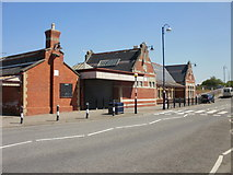 ST1166 : Barry Island railway station buildings by Jaggery