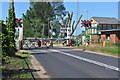 TL7286 : Hand Operated Crossing at Lakenheath Crossing by Ashley Dace