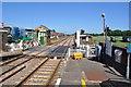 TL7286 : Lakenheath Railway Station by Ashley Dace