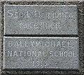 C2146 : Plaque, Ballymichael National School by Kenneth  Allen
