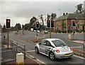 SD9112 : The middle of Kingsway by Gerald England