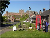 NU1834 : Front Street, Bamburgh by Andrew Curtis