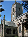 TF7922 : St Mary's church in Great Massingham by Evelyn Simak