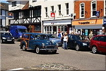 SU3521 : Market Place, Romsey, Hampshire by Peter Trimming