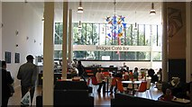 SP0683 : Cafe area, MAC by Michael Westley
