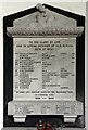 TF5820 : St Margaret, Clenchwarton, Norfolk - WWII Memorial by John Salmon