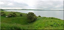 NU1535 : Budle Bay west from Kiln Point by Andrew Curtis