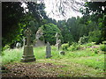 N7561 : Church and graveyard at Tullaghanoge, Co. Meath by Kieran Campbell