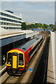 SU4112 : Train at Southampton Central Railway Station by Peter Trimming