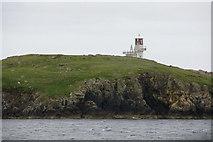 HU3635 : Fugla Ness Lighthouse, Hamnavoe by Mike Pennington