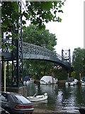 TQ1667 : Bridge to Ditton Island by Malc McDonald
