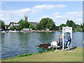 TQ1369 : Hampton Ferry by Malc McDonald