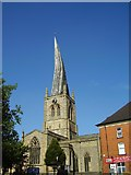 SK3871 : Chesterfield Crooked Spire by Ashley Dace