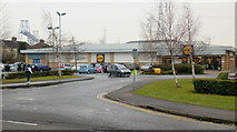 ST3186 : Lidl's Mendalgief branch, Newport by Jaggery