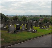 SJ9498 : View of Ashton by Gerald England