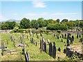 SH3735 : Older section of Denio Cemetery by Eric Jones