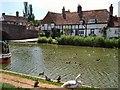 SU3368 : Cottage beside Kennet & Avon Canal by Paul Gillett