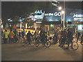 TQ3280 : Night riders at London Bridge by Stephen Craven