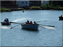 SX9291 : Messing about on the river. by Chris Allen