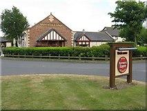 NS3628 : Monkton Lodge by M J Richardson