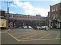 SJ8398 : Bridge at Salford Central Station by David Dixon