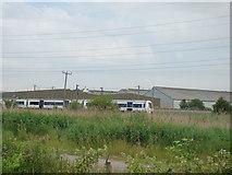 TQ5479 : National Express train on c2c line by Robert Lamb